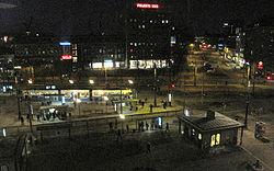 Jerntorvet i Göteborg fra oven på aftnen (del).   jpg