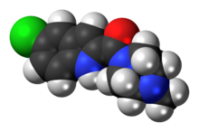 Ball-and-stick model of the JNJ-7777120 molecule