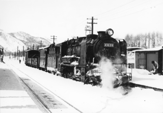 JNR Class 9600 Japanese type 2-8-0 steam locomotive class