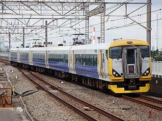 Wakashio - Image: JRE E257 NB 01 Wakashio Kasairinkai