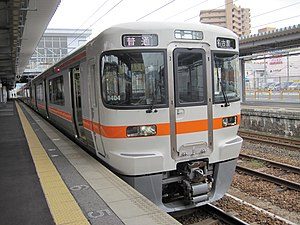 313 series - 313-1300 series 2-car set B404, October 2010