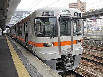 313 series - 313-1300 series 2-car set B404, October 2010