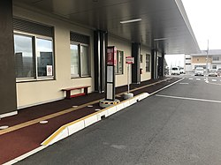 JR East BRT Takata Byoin Station2.jpg