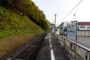 Iwanoshita Station - Iwanoshita Station in October 2010