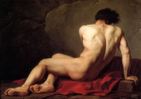 Patrocle, par Jacques-Louis David (1780).