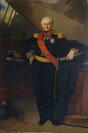 Jacques Bergeret - Portrait de l'amiral Bergeret.