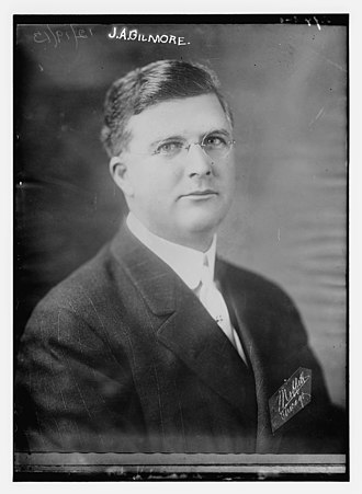 Federal League - James A. Gilmore of the Federal League circa 1913