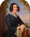 Jan Adam Kruseman - Henriette Elisabeth Jacqueline Bienfait (1824-1859), vrouw van Petrus Augustus de Genestet - 4683 - Rijksmuseum Twenthe.jpg