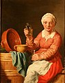 Jan Jozef Verhaghen - Woman drinking liqueur.jpg