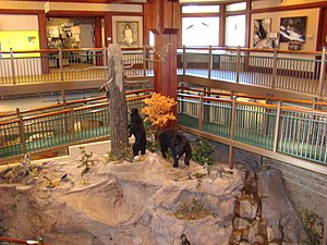 Tallulah Gorge State Park - Jane Hurt Yarn Interpretive Center, Tallulah Gorge State Park.