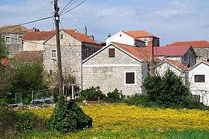 Janjina - Image: Janjina Buildings 1