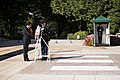 Japan's former minister of finance lays a wreath at the Tomb of the Unknown Soldier in Arlington National Cemetery (30231560556).jpg