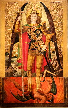 Jaume Huguet - The Archangel St Michael - WGA11799.jpg