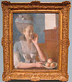 Jean-étienne liotard, ritratto di marie jeanne liotard con un canestro di pesche, 1779, 01.JPG