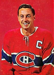Jean Béliveau Canadian ice hockey player