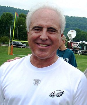 Jeffrey Lurie, Philadelphia Eagles owner, afte...