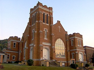 Jellico, Tennessee - Image: Jellico first baptist tn 1