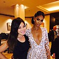 Jennifer Su and Chanel Iman, Cannes Festival 2015.jpg
