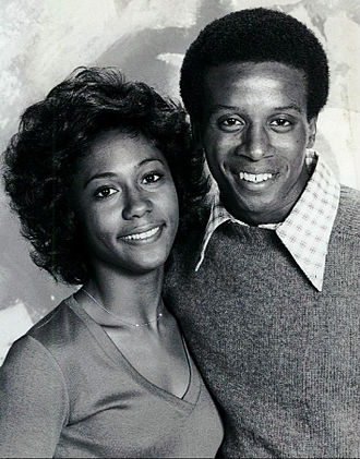 The Jeffersons - Berlinda Tolbert and Damon Evans as Jenny and Lionel (1976)