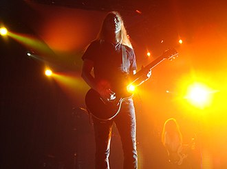 Jerry Cantrell - Jerry Cantrell during an Alice in Chains concert in San Jose, October 2010