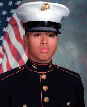Jesse Aliganga - Image: Jesse Aliganga, USMC
