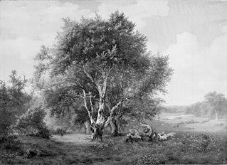A Landscape near Frederiksborg Castle