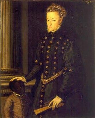Joanna of Austria, Princess of Portugal - Joanna of Austria, Princess of Portugal; by Cristóvão de Morais, 1551.