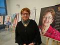 Joanna Sobolewska-Pyz Dzieci Holocaustu na wystawie 2016 MZW6779.jpg