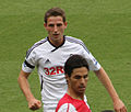 Joe Allen vs Arsenal.jpg