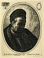 Johannes Faust. Etching after Rembrandt. Wellcome V0001878.jpg