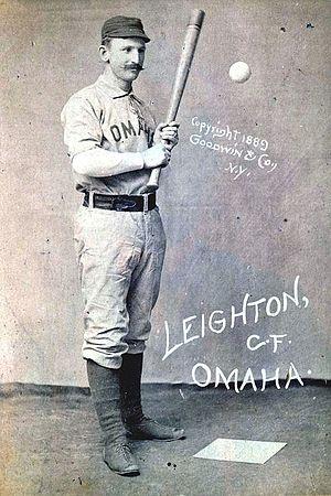 John Leighton (baseball) - Image: John Leighton (baseball)
