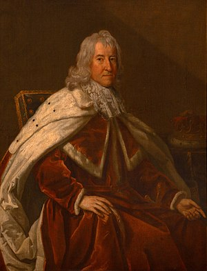 John Robartes, 1st Earl of Radnor - John Robartes in 1683