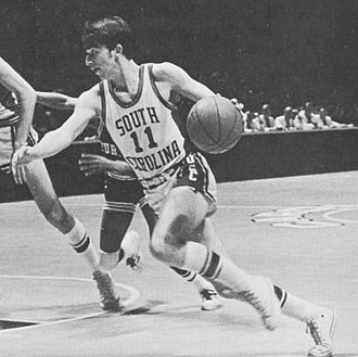 South Carolina Gamecocks men's basketball - John Roche won ACC Player of the Year in 1969 and 1970.