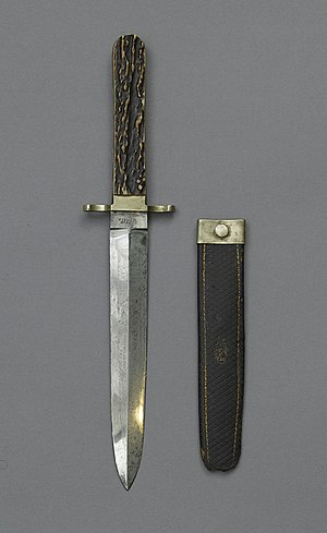 Henry Rathbone - Dagger used by Booth to attack Rathbone.
