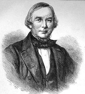 John Winter Jones - Engraving of John Winter Jones