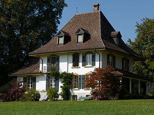 Gals - Jolimont-Gut estate in the Gals municipality
