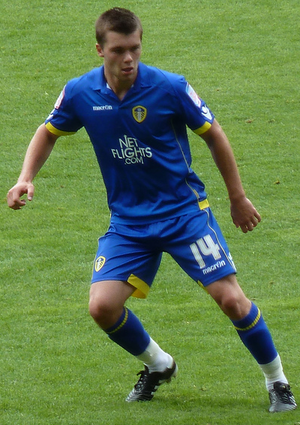 Jonny Howson - Howson playing for Leeds United in 2010