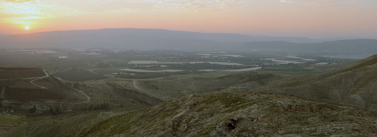 [Jordan River valley]