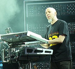 Jordan Rudess med Dream Theater 2007