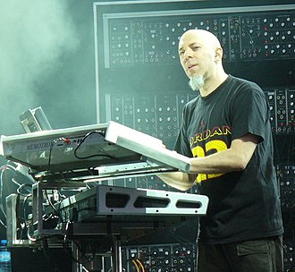 Digital synthesizer - Jordan Rudess performing with a digital synth