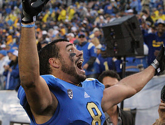 Joseph Fauria - Fauria with UCLA in 2012