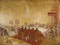 Joseph Mallord William Turner (1775-1851) - George IV at the Provost's Banquet in the Parliament House, Edinburgh - N02858 - National Gallery.jpg
