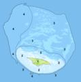 Juan de Nova Island and reef land cover map-precision chart.png