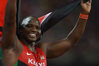 Julius Yego Kenyan javelin thrower
