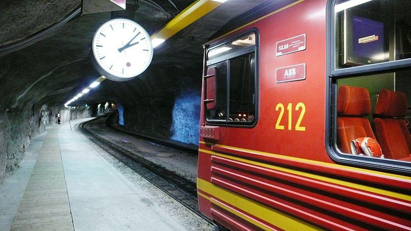 File:Jungfraubahn - Top of Europe - 3.454m Jungfraujoch.JPG