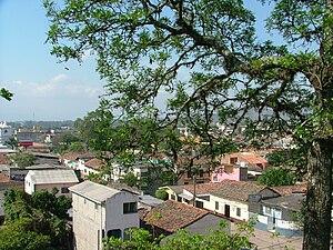 Juticalpa, Olancho - Overlooking Barrio El Centro from La Cruz