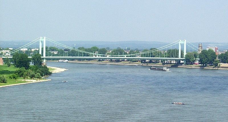 Köln - Mülheimer Brücke
