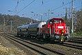 Köln West DB 261 106-9 met 3 ketelwagons (13032587253).jpg
