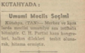Kütahyada Umumî Meclis Seçimi 1938, Tan.png