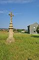 Kříž poblíž silnice na Olšany, Třebčín, Lutín, okres Olomouc (02).jpg